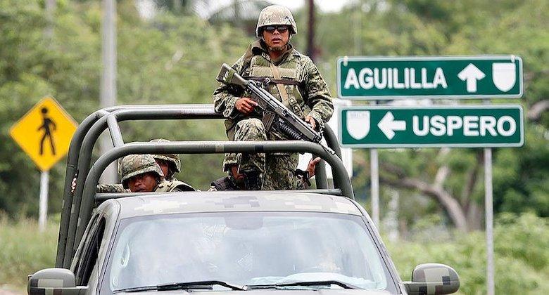 Ejército Mexicano, Aguililla