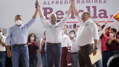 Raúl Morón, Alfredo Ramírez Bedolla, Abraham Sánchez Martínez
