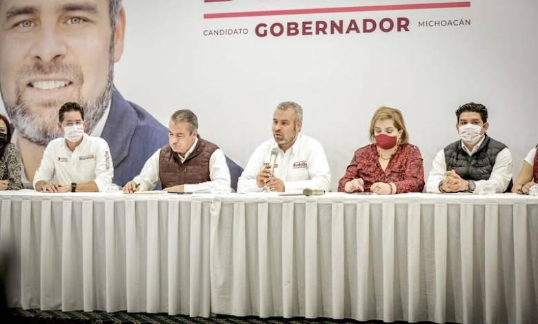 Alfredo Ramírez Bedolla, Morena