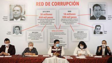 Morenists, red de corrupción