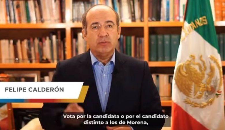 Felipe Calderón, mensaje