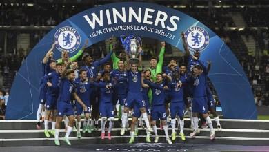 Chelsea, campeón, Champions League