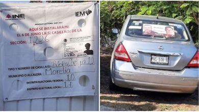 propaganda, Morena, casilla electoral