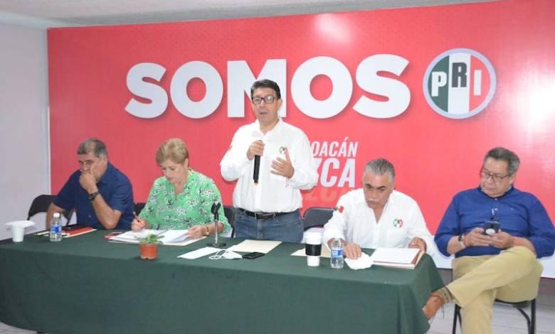 Eligio González Farías, PRI