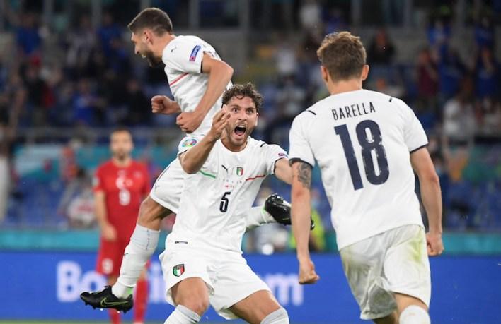 Italia, Eurocopapa 2020