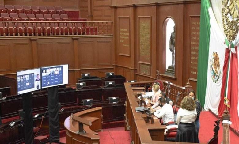 Congreso del estado de Michoacán