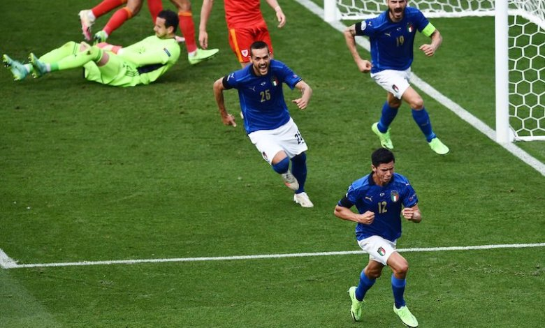 Italia, Gales, Eurocopa