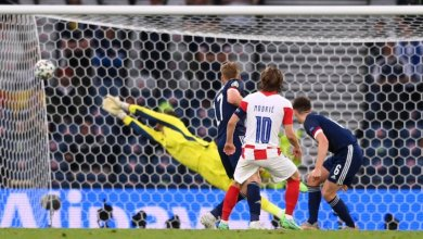 Croacia, Escocia, Eurocopa, Luka Modric