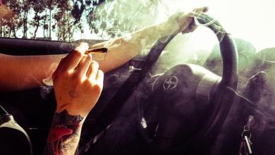 marihuana,accidentes de tránsito