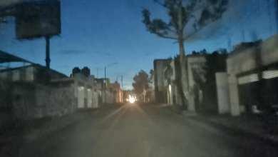 luminarias apagadas, Morelia