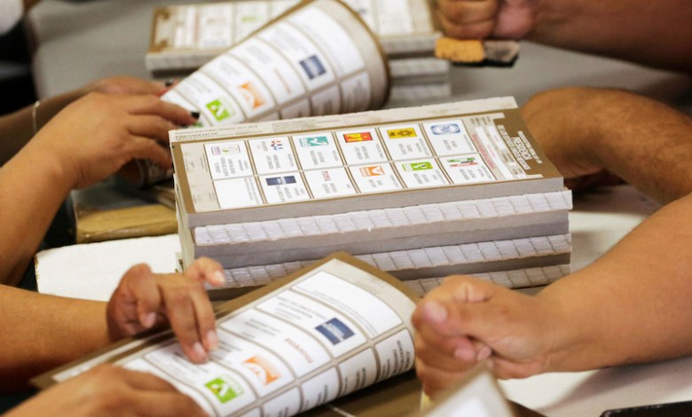 elecciones, boletas electorales