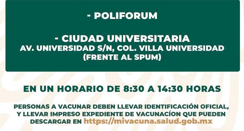 vacunación, COVID-19, Morelia