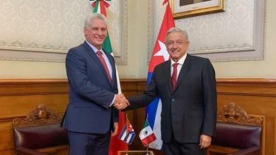 Díaz Canell,Andrés Manuel López Obrador
