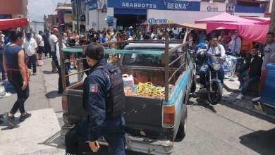 camioneta, tianguis, accidente