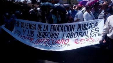 CNTE, manifestación