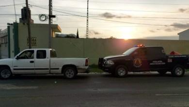camioneta robada, Policía Michoacán