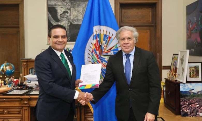 Silvano Aureoles, Luis Almagro, OEA