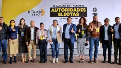 PRD Michoacán,coordinadores