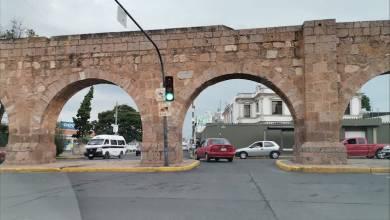 semáforo,Acueducto de Morelia