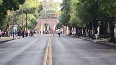 normalistas, Calzada Ventura Puente, Morelia