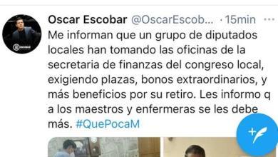 tuit, Óscar Escobar Ledesma
