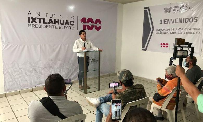 Toño Ixtláhuac, Gobierno Abierto
