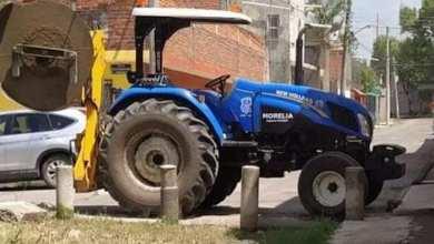 tractor, Ayuntamiento de Morelia