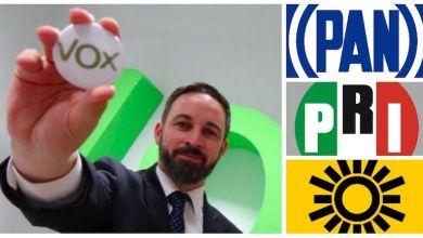 Santiago Abascal,Vox,PAN, PRI,PRD