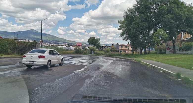fuga de agua, Morelia