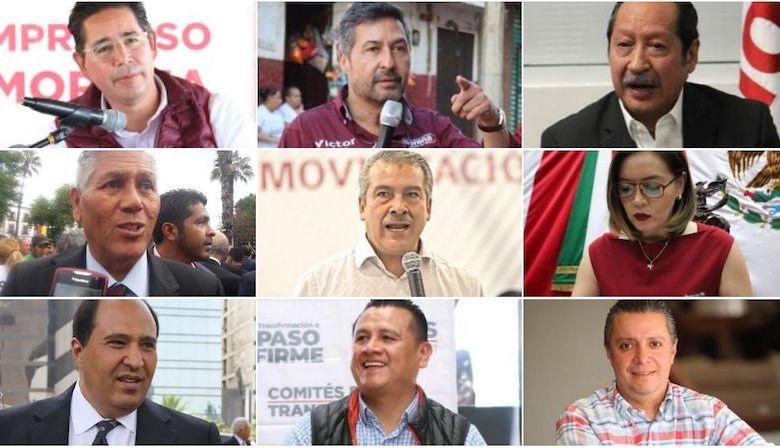 Los suspirantes, Morenistas que nos son del Morena