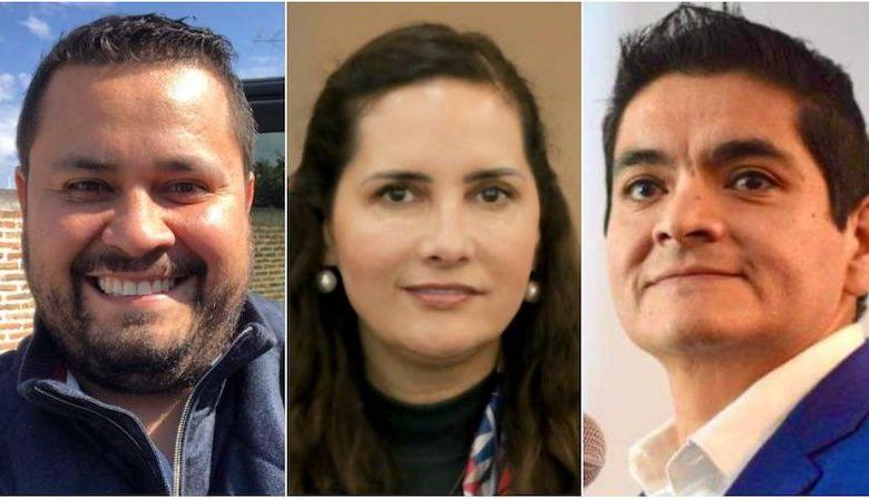 Armando Tejeda Cid, Macarena Chávez Flores, Arturo Hernández Vázquez