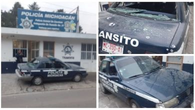 agresión a policías, Policía Michoacán, ataque armado