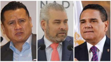Carlos Torres Piña, Alfredo Ramírez Bedolla, Silvano Aureoles