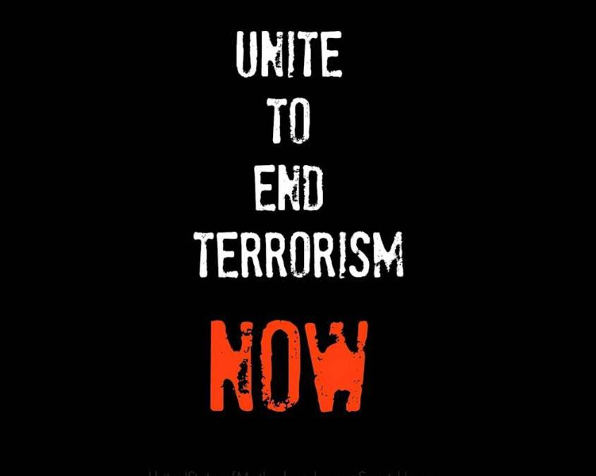 unite against terror