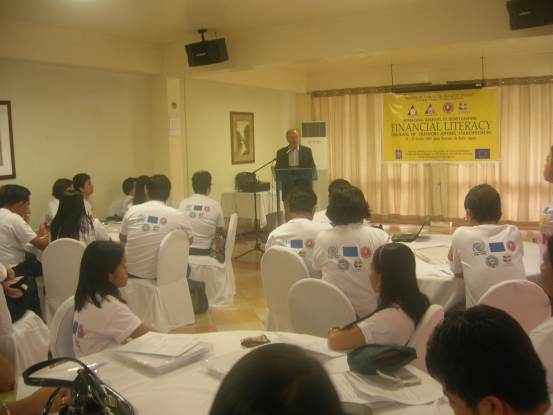 Trainers' Training on Financial Literacy and Peer Counseling among NGOs, LGUs and other stakeholders in the Philippines