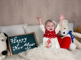 Enjoy baby's first New Year's Eve.