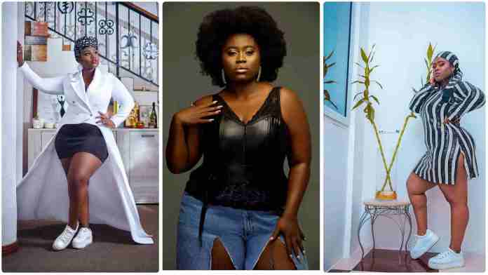 Actress Lydia Forson is down as construction workers trolled her to get married