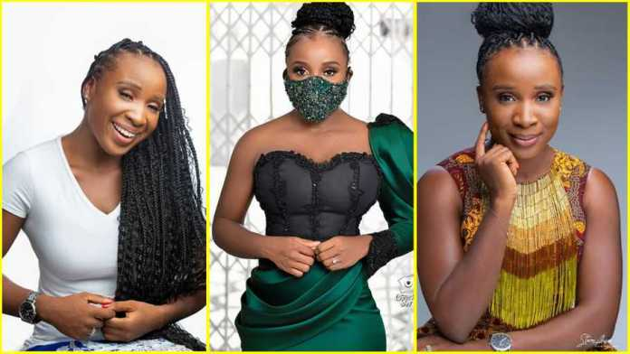 No makeup photo of Naa Ashorkor in quarantine stirs emotions; fans pray for her