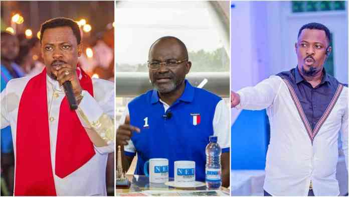 Prophet Nigel Gaisie sends strong warning to Hon Kennedy Agyapong