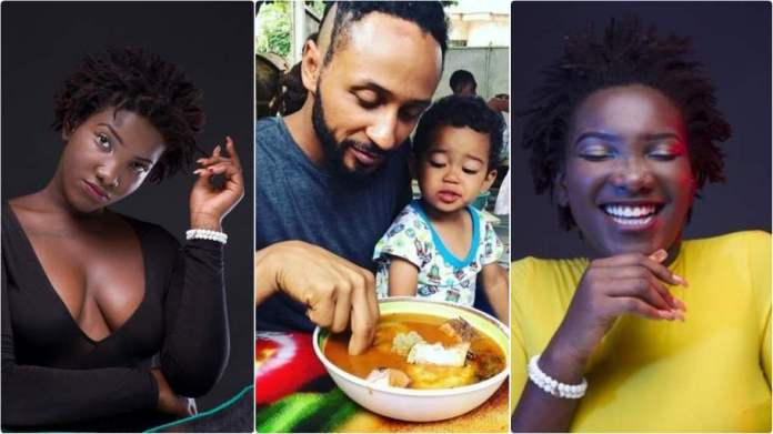 Meet Ebony: Wanlov's beautiful daughter named after the late songstress [video ]