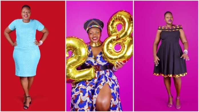 Lady stuns in breathtaking photos as she celebrates 28 years of living with HIV
