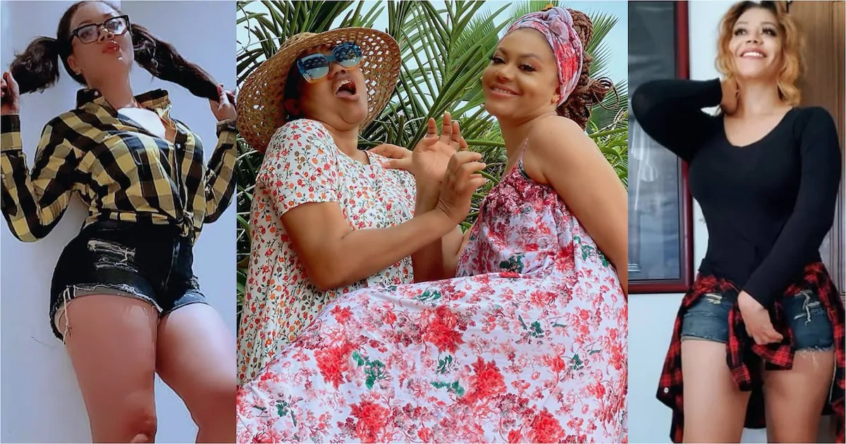 Nadia Buari plays with mum in new hilarious video; fans can't stop ...