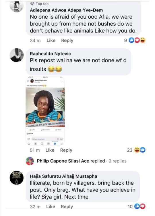 Afia Schwarzenegger trolled Prof Naana Jane