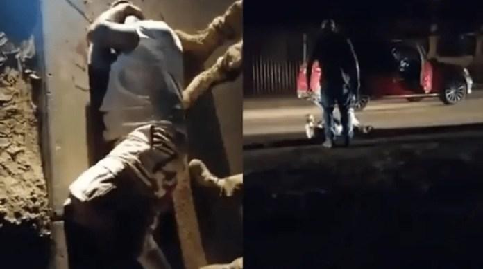 Husband shoots the wife's boyfriend