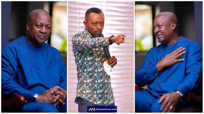 Rev Owusu  Bempah jumps to Mahama's defense