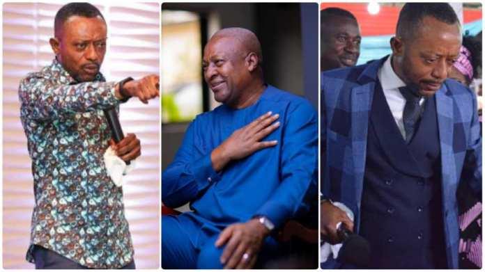 Rev. Owusu Bempah finally apologises to John Mahama; gives another serious prophecy
