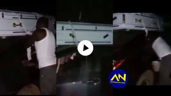 Man arrested for carrying white Coffin at midnight