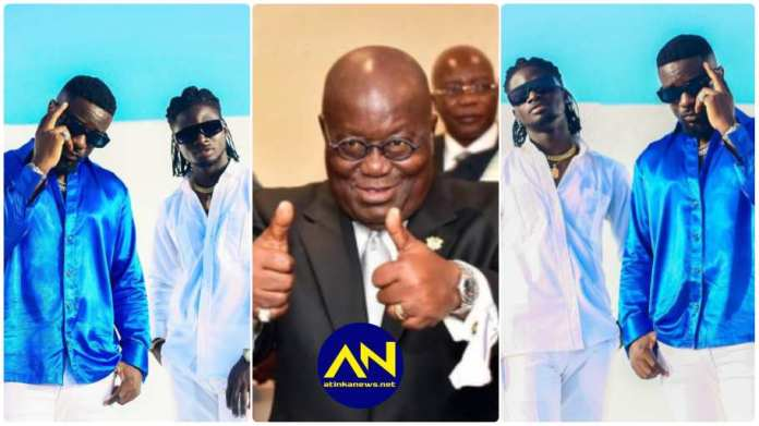 Sarkodie and Kuami Eugene NPP campaign song