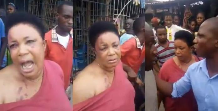 Woman allegedly returns the man-hood
