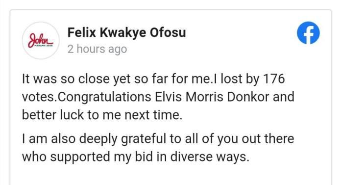 Felix Ofosu Kwakye
